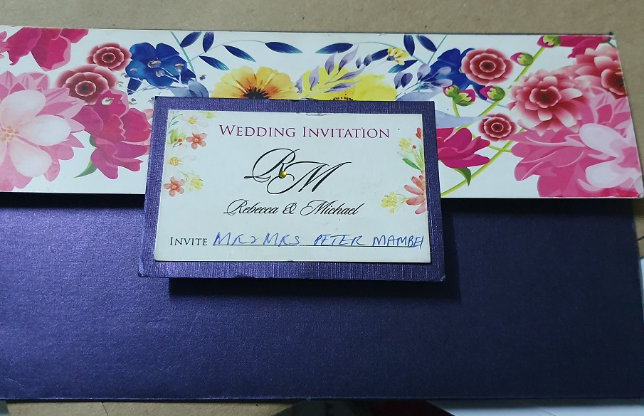 Wedding Card Cover